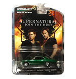 Supernatural Diecast Model 1/64 1967 Chevrolet Impala Sedan Limited Edition Green