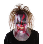Slipknot Vinyl Mask Clown with Hair