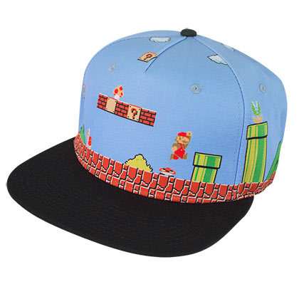 Super MARIO Bros Original Level Snapback Hat