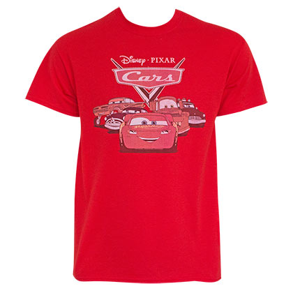 Cars Classic Logo Red Tee Shirt