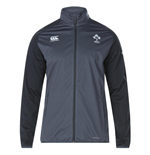 2017-2018 Ireland Rugby Vaposhield Anthem Jacket (Asphalt)