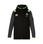 2017-2018 Ireland Rugby Fleece Full Zip Hoody (Tap Shoe)