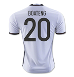 2016-2017 Germany Home Shirt (Boateng 20) - Kids