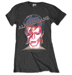 David Bowie Ladies Premium Tee: Aladdin Sane