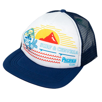 PACIFICO Surf and Cerveza Trucker Hat
