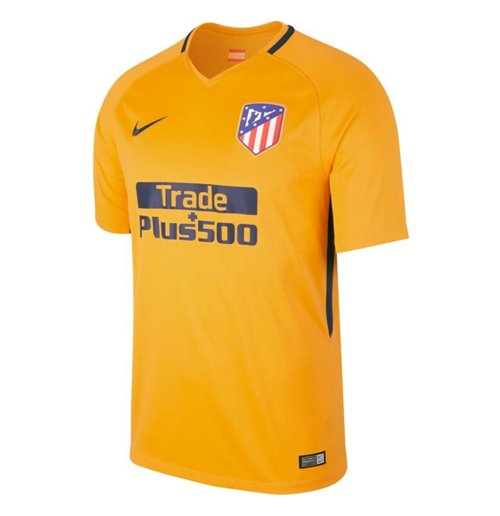 2017-2018 Atletico Madrid Away Nike Football Shirt