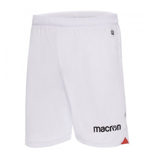 2017-2018 OGC Nice Macron Home Shorts (White)