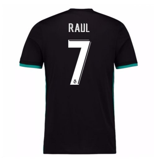 2017-18 Real Madrid Away Shirt (Raul 7)