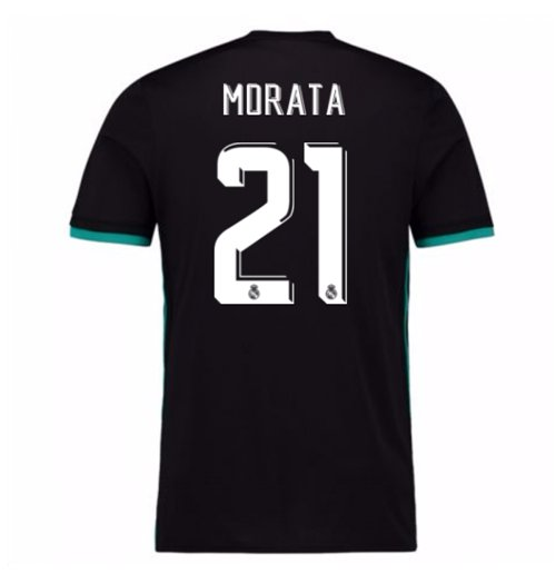 2017-18 Real Madrid Away Shirt (Morata 21)