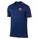 2017-2018 AS Roma Nike Training Shirt (Royal Blue) - Kids