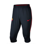 2017-2018 AS Roma Nike Three Quarter Length Pants (Black)