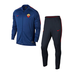 2017-2018 AS Roma Nike Dry Squad Tracksuit (Deep Royal)