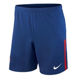 2017-2018 Atletico Madrid Home Nike Football Shorts (Blue)
