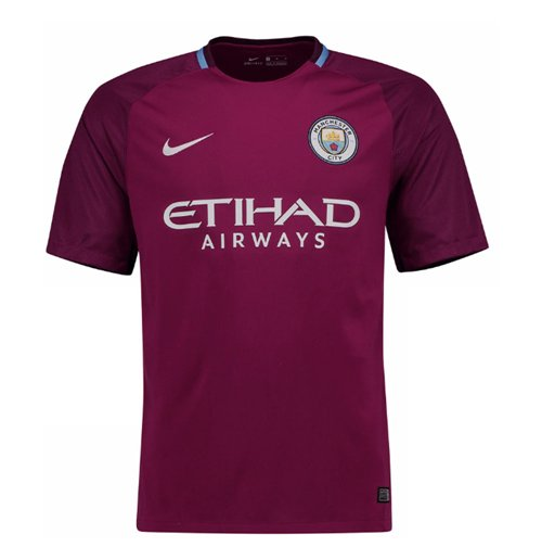 2017-2018 Man City Away Nike Football Shirt (Kids)