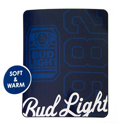 BUD LIGHT 1982 Beach Blanket