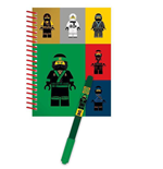 LEGO Ninjago Movie Notebook with Pen