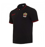 2017-2018 OGC Nice Cotton Polo Shirt (Black)