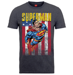 Dc Comics - Superman Us Flight Grey T-shirt (Unisex)