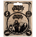 Black Sabbath Sticker Set - Vintage - 12,5X10 Cm