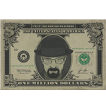 Breaking Bad Poster - Heisenberg Dollar - 61X91,5 Cm