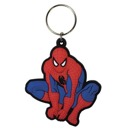 Spiderman - Figure rubber Keychain