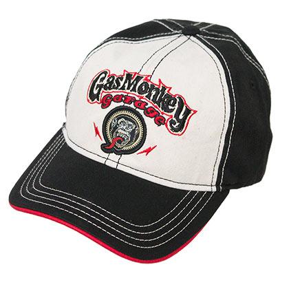 Official GAS MONKEY GARAGE Black Stitched Hat  Buy Online on Offer 95ffffb5a95