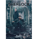 Sherlock Poster - Destruction - 61X91,5 Cm