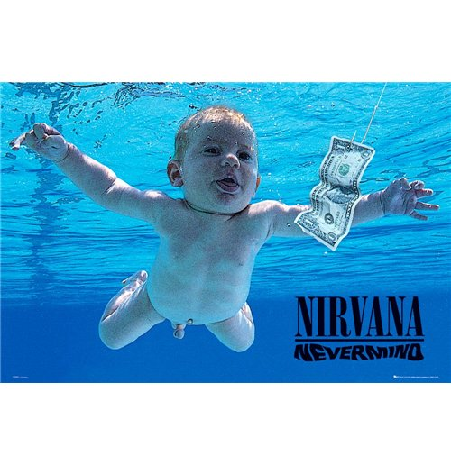Nirvana Poster - Nevermind - 61x91,5 Cm