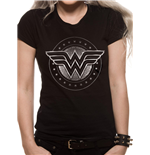 Wonder Woman Women's T-shirt - Chrome Logo