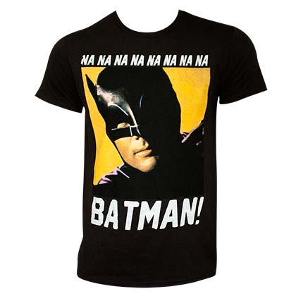 BATMAN NANANA Black Tee Shirt