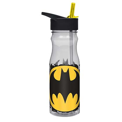 BATMAN Large Water Bottle With Straw