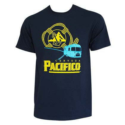 PACIFICO RV Navy Blue Tee Shirt