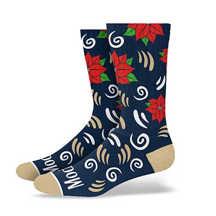 Modelo Holiday Premium Terry Crew Socks PLACEHOLDER