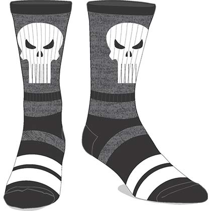 The PUNISHER Varsity Men's Crew Socks