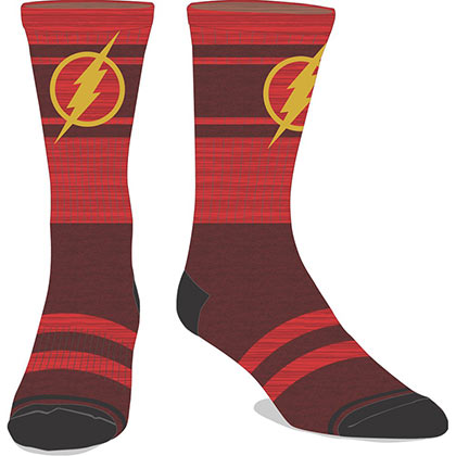 The FLASH Marled Men's Crew Socks