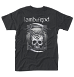 Lamb Of God T-shirt Sickle Skull