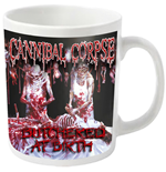 Cannibal Corpse Mug Butchered (WHITE)