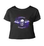 Avenged Sevenfold T-shirt Bat Skull (CROPPED)
