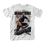 Dc Comics Deathstroke T-shirt Swords