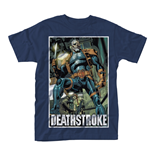 Dc Comics Deathstroke T-shirt Unmasked