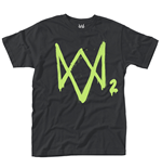 Watch Dogs 2 T-shirt Neon Logo