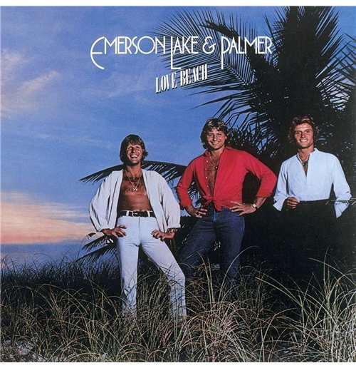 Vynil Emerson, Lake & Palmer - Love Beach