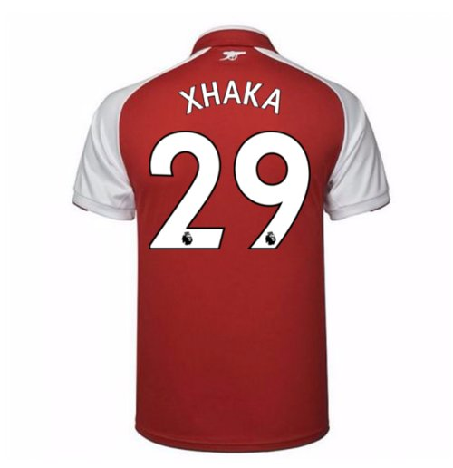 2017-18 Arsenal Home Shirt (Xhaka 29)