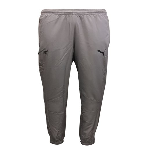 2017-2018 Arsenal Puma Casual Performance Woven Pants (Dark Shadow)