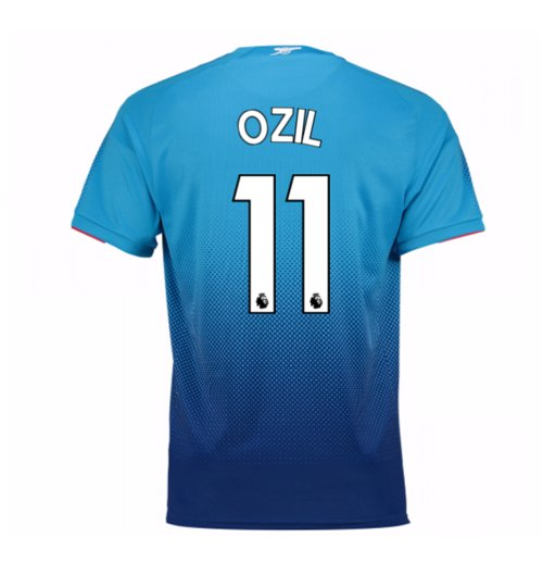 2017-2018 Arsenal Away Shirt (Ozil 11)