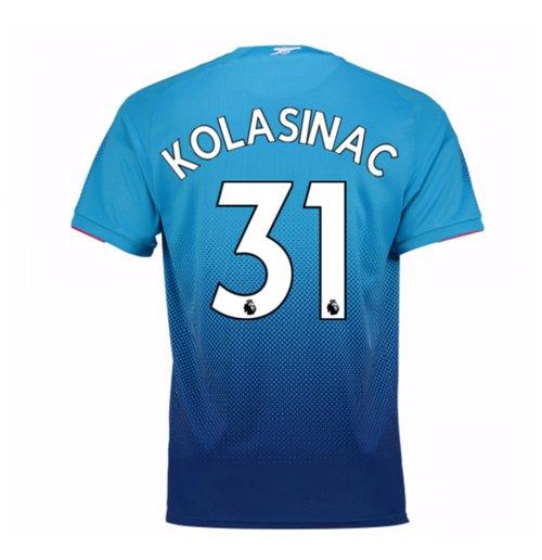 watch 845b8 e9e6f 2017-2018 Arsenal Away Shirt (Kolasinac 31)
