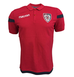2017-2018 Cagliari Cotton Polo Shirt (Red)