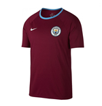 2017-2018 Man City Nike Dry Match Tee (True Berry)