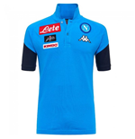 2017-2018 Napoli Cotton Polo Shirt (Sky Blue)