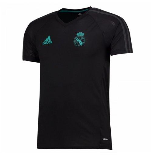 best service 9453d e7cea 2017-2018 Real Madrid Adidas Training Shirt (Black) - Kids